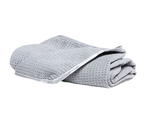 Armour Car Care Waffle Weave Microfiber Towel – Absorbent Auto Detailing Drying Towel, Perfect Large Waffle-Weave Towel for All Vehicles, 25 x 35