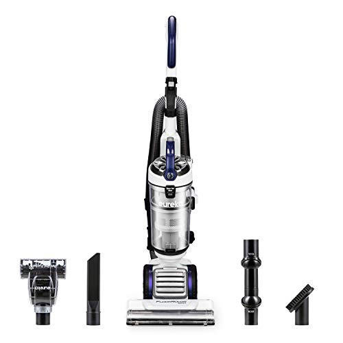 Eureka NEU522 FloorRover Dash Upright Pet Vacuum Cleaner, HEPA Filter, Swivel Steering for Carpet and Hard Floor, Bagless, Deep Ocean