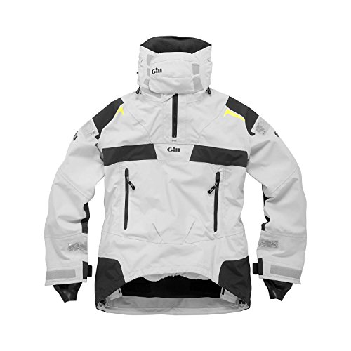 Gill Ocean Racer Smock (XX-Large, Silver Gray/Graphite) ()