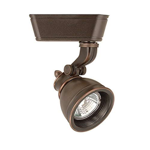 WAC Lighting JHT-874-AB J Series Low Voltage Track Head, 50W
