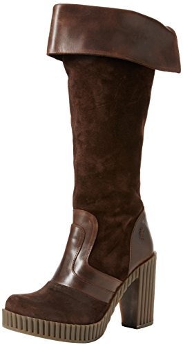 FLY London Geli742fly, Botines para Mujer Marrón (Expresso/dk.brown/expresso 001)