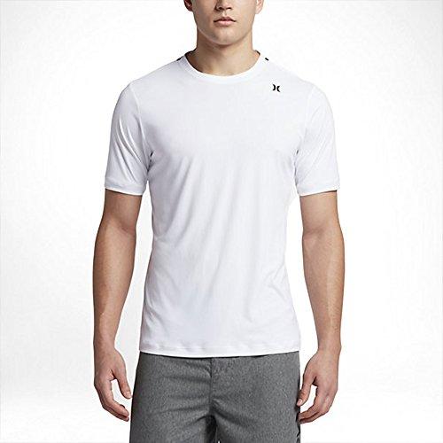 Hurley Mens Rash Guard (Hurley Men's Dri-Fit Icon Surf Shirt White Shirt)