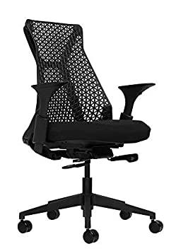 Laura Davidson Furniture Bowery Fully Adjustable Management Office Chair Black Black