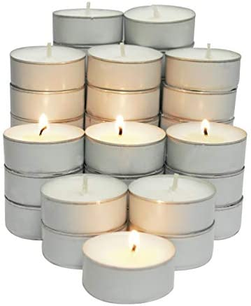 CandleNScent Lights Candles Tealight White product image