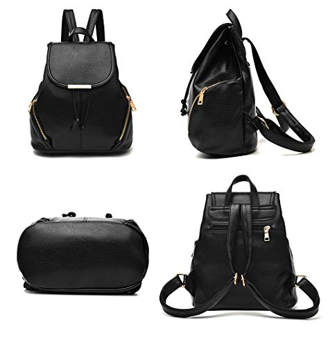 Aiseyi Women Backpack Purse PU Leather Fashion Designer Backpack Ladie Travel Casual Rucksack