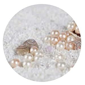alfombrilla de ratón reco cáscara en la arena blanca - ronda - 20cm