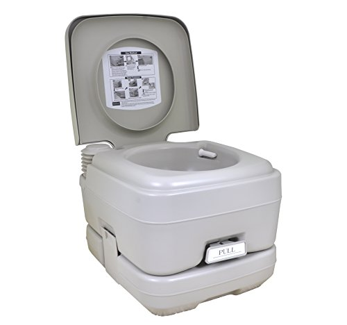 Fantastic Deal! 2.8 Gallon Portable Toilet Flush Travel Outdoor Camping Hiking Toilet