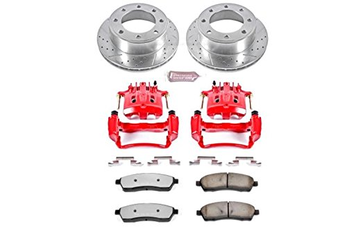 Power Stop KC1890A-36 Rear Z36 Truck and Tow Brake Kit with Calipers
