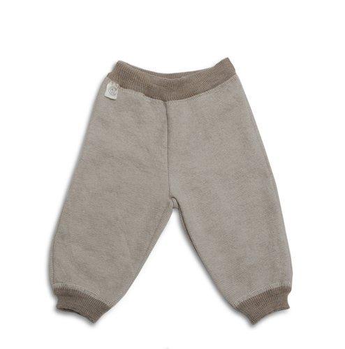LANACARE Organic Wool Toddler/Baby Pants, Brown, size 80 (9-12 mo)