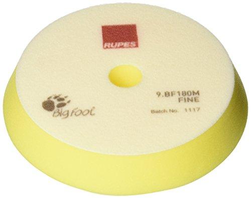 Rupes Yellow Fine Polishing Foam Pad (2-Pack) - 180mm (7 Inch)