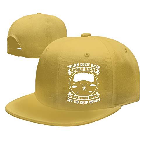 Enjoytm Sport Fallschirmspringen Dad Hat Baseball Cap Peaked Trucker Hats for Men Women (Fallschirmspringen Shop)
