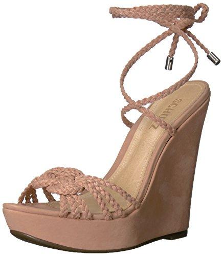 SCHUTZ Women Macarena Wedge Sandal Toasted