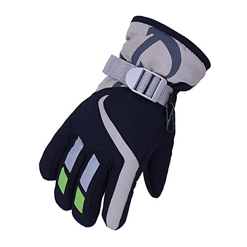 (HIMI Gloves for Kids,Winter Skiing Boy Girl Snowboard Waterproof Thermal Gloves for Outdoor/Indoor Activities –(4 to 8T))