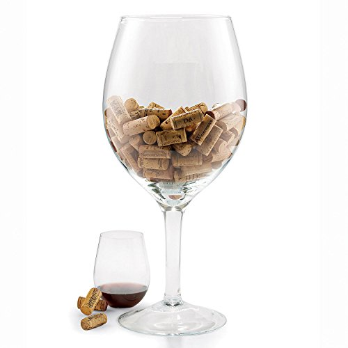 (Oversized Wine Glass Cork)