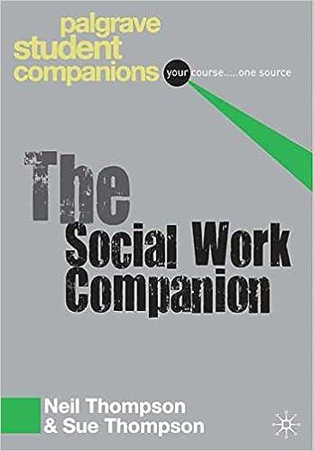 The Social Work Companion (Palgrave Student Companions