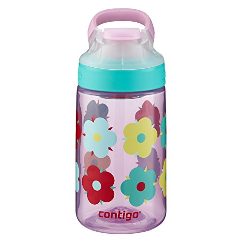 Contigo AUTOSEAL Gizmo Sip Kids Water Bottle, 14 oz., Thistle