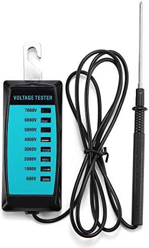 Queenwind 600V-7000V携帯用導かれた表示電気F電池の電圧テスター