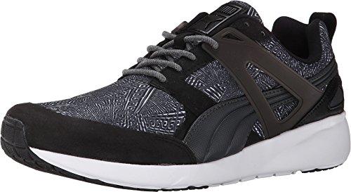 Sneakers Grafiche Arial Puma Mens Blackdarkshadow