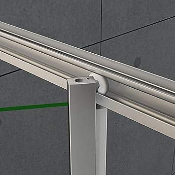 Mamparas Puerta Abatible Pantalla de Ducha 6mm cristal para 70x185cm