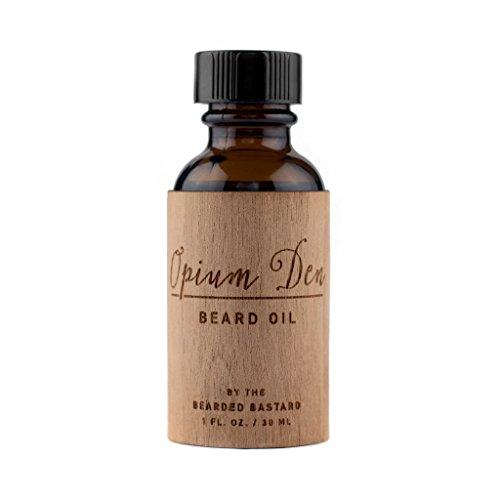 Opium Den Beard Oil, Beard Care Conditioner, Men's Grooming, Moisturizer | Jojoba Oil, Broccoli Seed Oil, Argan Oil and Pomegranate Essential Oils 1 -