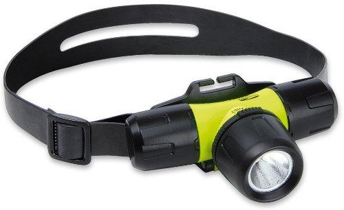 LiteXpress Liberty Aqua 1 LXL10000W4 Lampe frontale 1 LED Luxeon Rebel forte puissance Puissance d'éclairage jusqu'à 137 lm Étanche jusqu'à 30 m Standard ANSI Noir/jaune B004FYXFG8