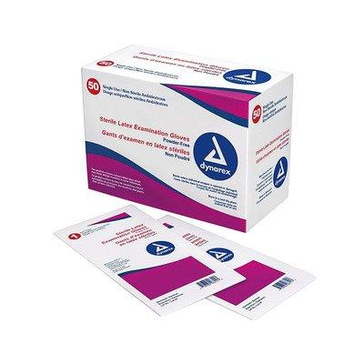 DX2453 - Sterile Powder-Free Latex Exam Glove Large