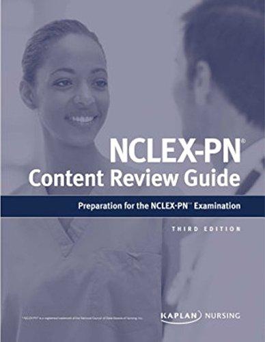 NCLEX-PN Content Review Guide (Kaplan Test Prep) 3rd Edition