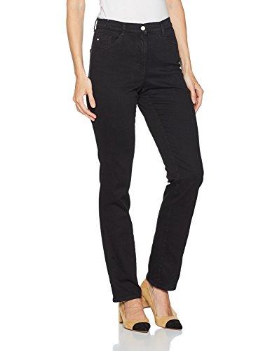 Brax Clean Carola Black Black Black 2 Jeans Straight Women's Bx a4rcZqSa