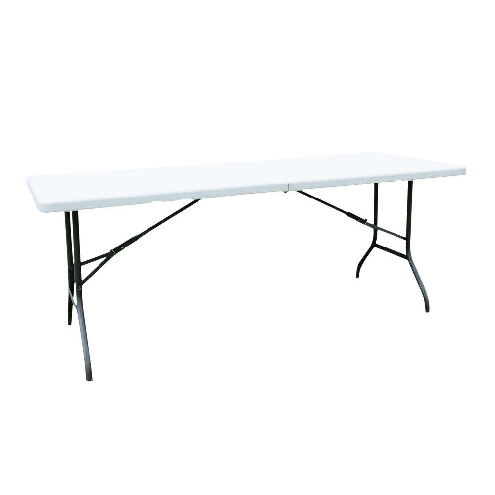6 ' FoldingテーブルポータブルプラスチックインドアアウトドアピクニックパーティーダイニングCampテーブル B01N4UZILY