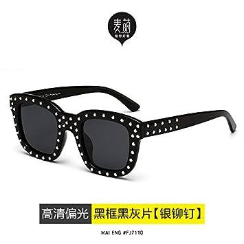 LLZTYJ Gafas De Sol/Gafas De Sol De Cara Redonda Gafas De ...