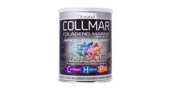 Amazon.com: COLLMAR Hydrolysed Marine Collagen with Magnesium, Hyaluronic Acid and Vitamin C Lemon Flavour 300g by Drasanvi: Health & Personal Care
