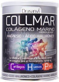 COLLMAR Hydrolysed Marine Collagen with Magnesium, Hyaluronic Acid and Vitamin C Lemon Flavour 300g by