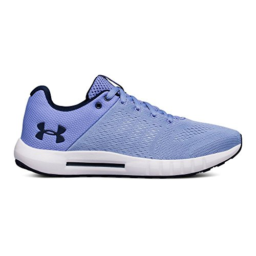 Under Armour Women's Micro G Pursuit, Chambray Blue (400)/Talc Blue, 8.5 M US (Chambray Footwear)