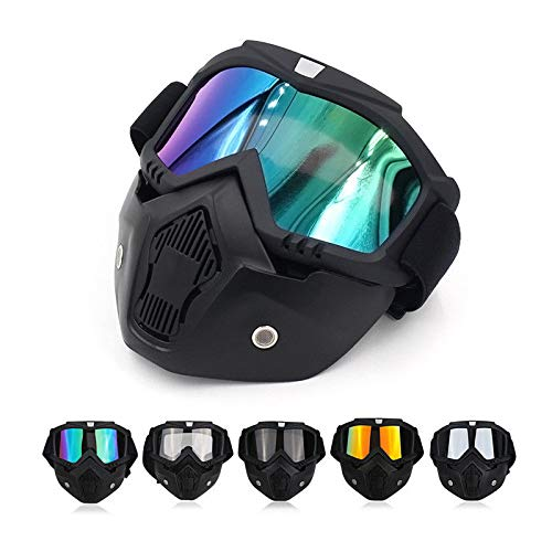 32c47beb04 Amazon.com  Winter Snow Sport Goggles Ski Snowboard Snowmobile Face Mask  Sun Glasses Eyewear (Black   Clear)  Office Products