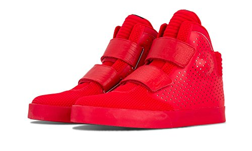 da Nike Uomo Prm University 2k3 Rojo Basket Scarpe Red Rojo Flystepper Rosso Chrome wnqfaA