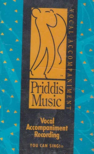 Priddis Music Vocal Accompaniment, You Can Sing #10 - Oldies Cassette Tape