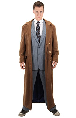 elope Dr. Who Tenth Doctor Jacket Mens