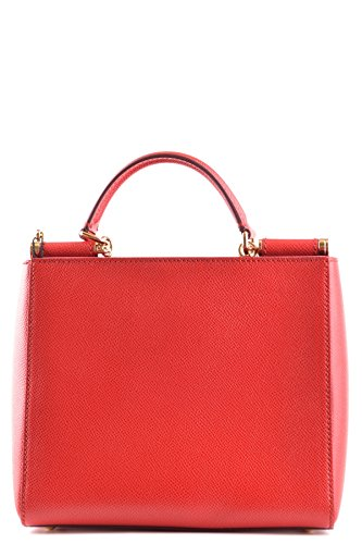 Bolso MCBI099380O Gabbana Rojo Mano amp; Cuero Mujer De Dolce ZBRzAPz