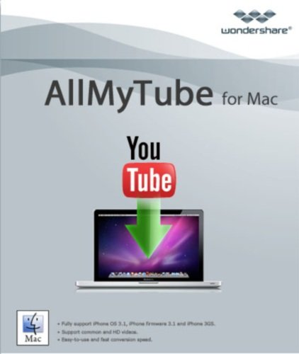 Wondershare Allmytube for Mac [Download] (Url Video Downloader)