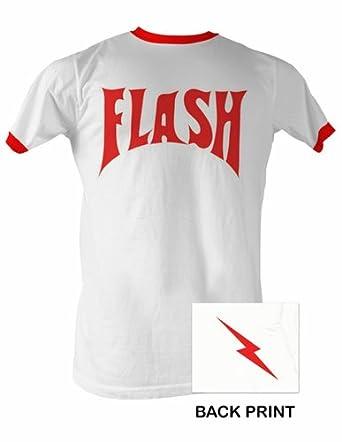 flash gordon t shirt adult ringer tee shirt. Black Bedroom Furniture Sets. Home Design Ideas