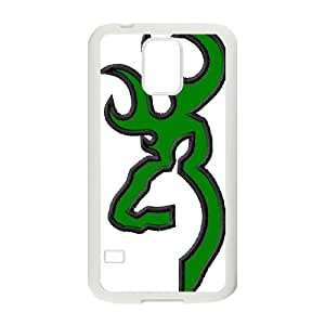 Browning Design Durable Rubber TPU Back Case Protective Skin For Samsung Galaxy S5 AKN224313