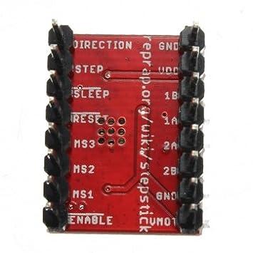 Módulo Driver A4988 del motor etapa Reprap alto de la impresora 3d ...