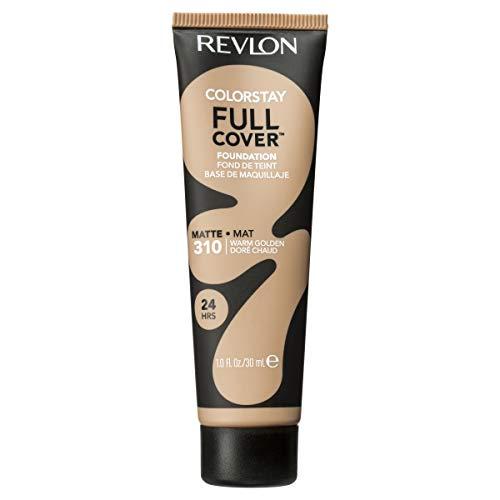 Revlon ColorStay Full Cover Foundation, Warm Golden, 1.0 Fluid Ounce