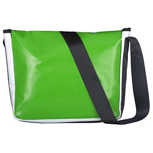 Sturm & Drang - Maxi tracolla messenger bag - Borsa in tela cerata - Università scuola