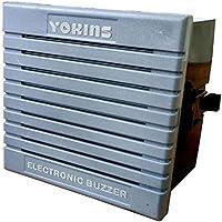 Yokins three tone three Input ELECTRONIC BUZZER HOOTER With range 110 Mtr (Sound Output 90 to 110 db)