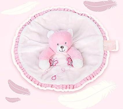 Lizes Manta de edredón para bebés y niñas Toalla de algodón Toalla de Mano Suave Juguete