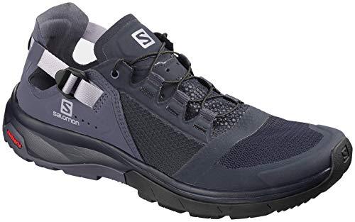 (Salomon Women's Techamphibian 4 Water Shoes, Navy Blazer/Crown Blue/Languid Lavender, 6.5 M US)