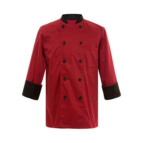 Red Chef Coat - 5