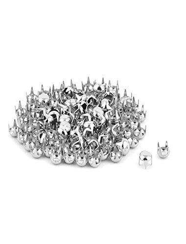 eDealMax Metal redondas Ropa de bricolaje decoración del remache de Los pernos prisioneros de uñas 5