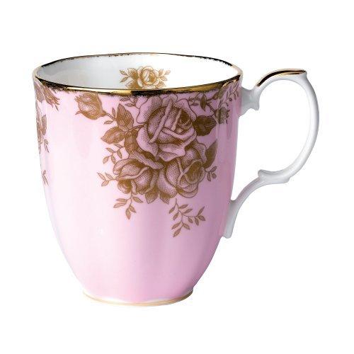 Royal Doulton Royal Albert 100 Years 1960-Golden Roses Mug - Royal Doulton Years 100
